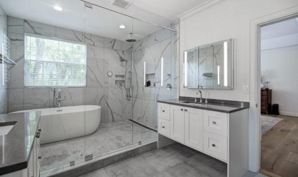 Tampa Modern Master Bathroom Remodel